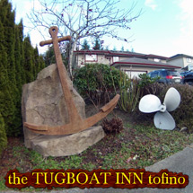 Affordable accommodations Tofino